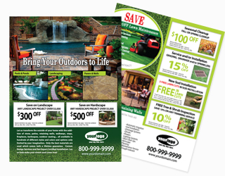 Landscaping Flyers Info
